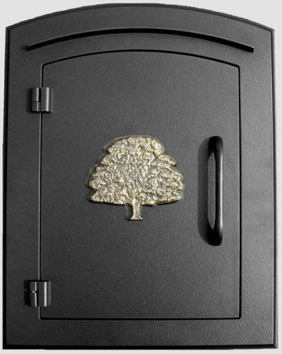Qualarc MAN-1404-BL Manchester Column Mount Mailbox for sale  Delivered anywhere in USA