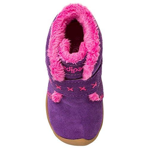 pediped Girls' Rosa Chukka, Purple, 23 EU(7 E US Toddler) by pediped (Image #4)