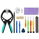 iPhone Tool Kit, Fosmon 14 Pieces Tool Repair Kit, Includes 5-Point Pentalobe Screwdriver with LCD Screen Opening Pliers for Apple iPhone SE / 6S Plus / 6S / 6 Plus / 6 / 5S / 5c / 5