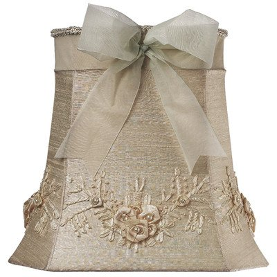 Jubilee Collection 4200 Floral Bouquet Shade, Large, Ivory