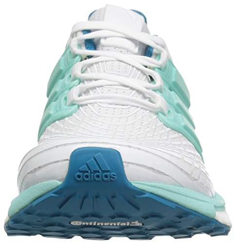adidas Performance Women's Energy Boost w White/Energy Aqua/Mystery Petrol kr42cO1QgI
