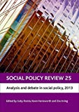 Social Policy Review 25, , 1447312740