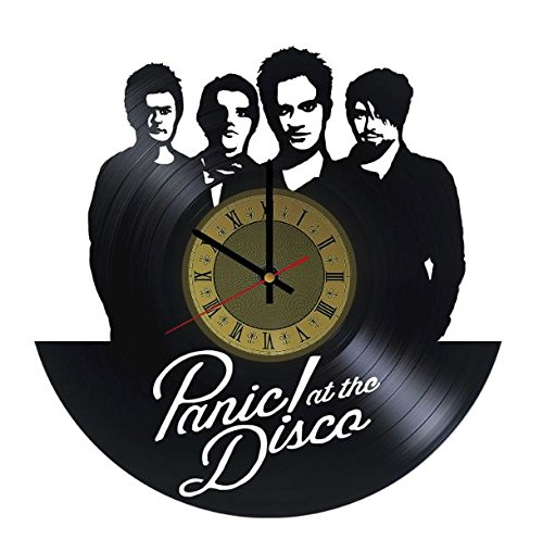 Panic! At The Disco Vinyl Wall Clock Unique Gifts Living Room Home Decor