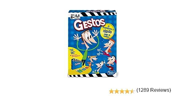 Hasbro Gaming - Juego de mesa Gestos (B0638105): Amazon.es: Juguetes y juegos