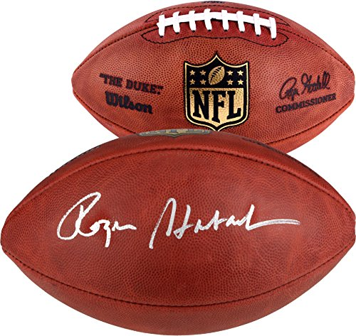 Dallas Cowboys Autographed Pro Football - Roger Staubach Dallas Cowboys Autographed Pro Football - Fanatics Authentic Certified - Autographed Footballs
