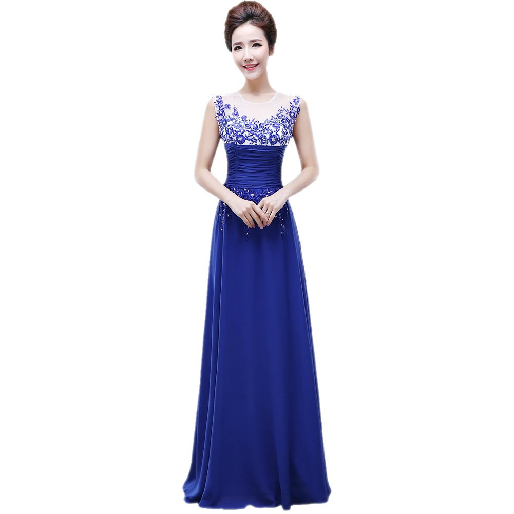 Love Dress Women Applique Bridesmaid Dress Prom Gown Us 16
