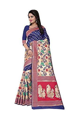 Wear Blue For Ethnic Sarees Wedding Sari Indian Party Da Facioun Traditional Designer 105 Women q7zppU