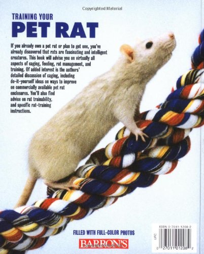 Training your pet rat training your pet series gerry buscis training your pet rat training your pet series gerry buscis barbara somerville 9780764112089 amazon books fandeluxe Image collections
