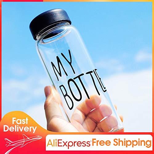 Amazon.com: Viet JK - Botella de agua de plástico resistente ...