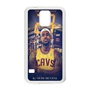 Unique Phone Case Pattern 10Hard Plastic Cover NBA Cleveland Cavaliers LeBron James - For Samsung Galaxy S5