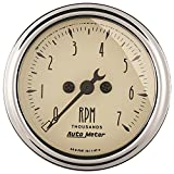 Auto Meter 1897 Antique Beige Electric Tachometer