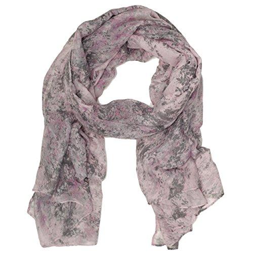 Bucasi Modern Marble Speckled Splatter P - Modern Scarf Shopping Results