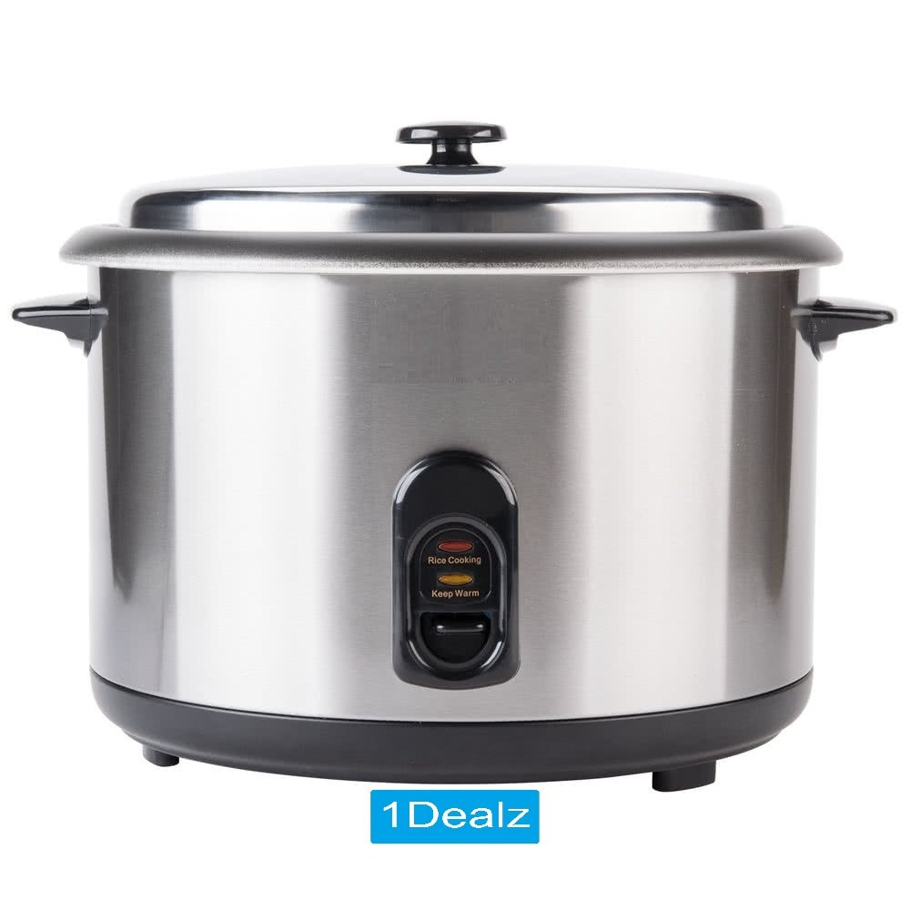 US Commercial 46 Cup (23 Cup Raw) Electric Rice Cooker / Warmer - 120V