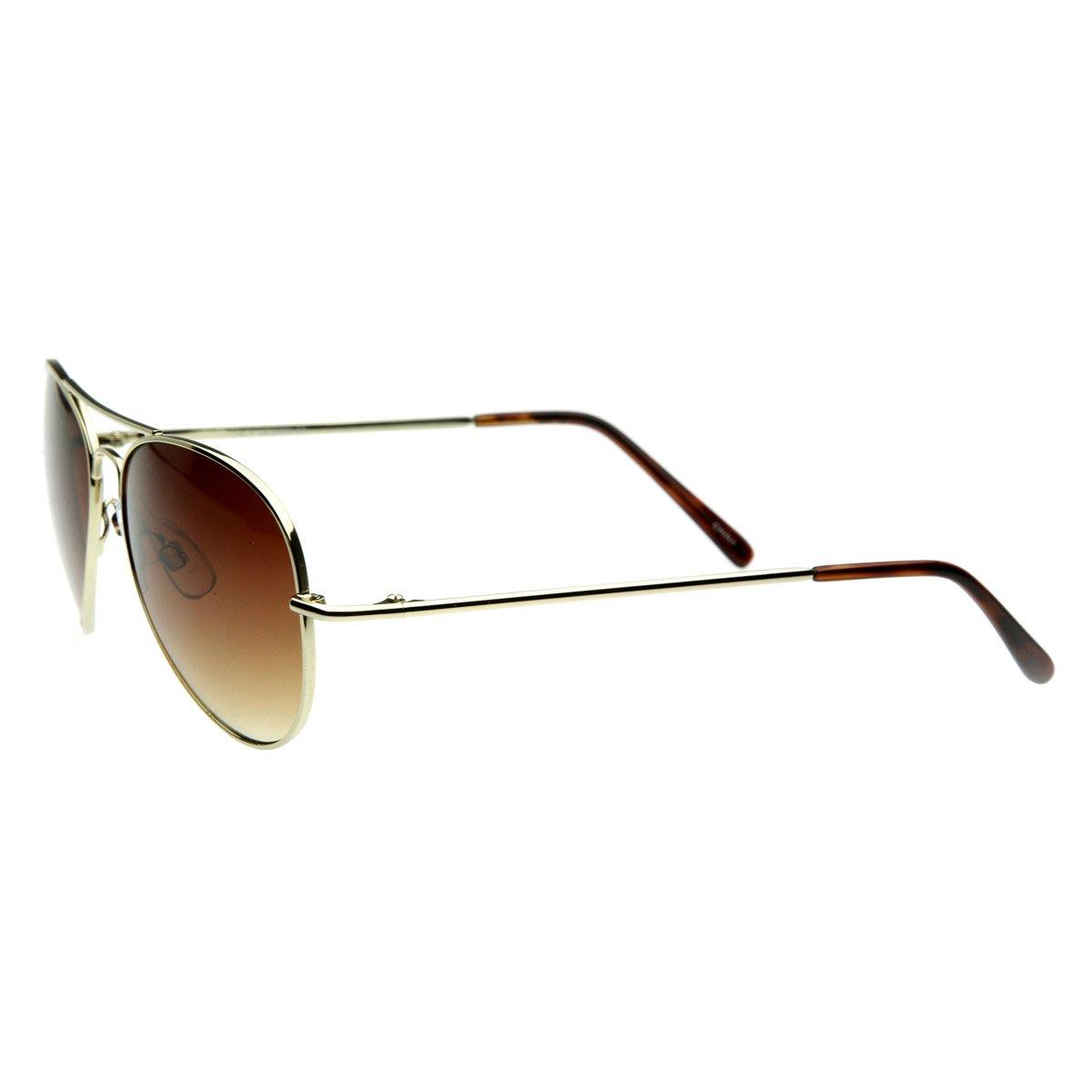 zeroUV - Small Frame Women Aviator Sunglasses for Small Faces 50 mm ...
