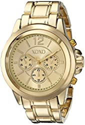 XOXO Women's XO5589 Gold-Tone Bracelet Watch