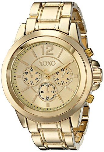 XOXO Womens XO5589 Gold-Tone Bracelet Watch