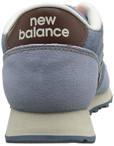 New Balance Womens Classics Traditionnels Textile Trainers Light Blue