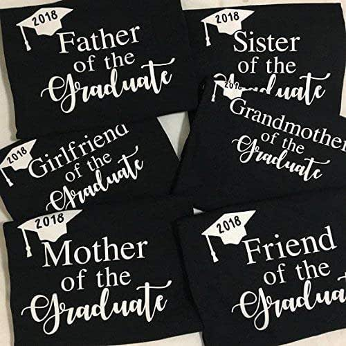 465e98b7f Amazon.com: Graduation Shirt - Family & Friends - 2018 ...