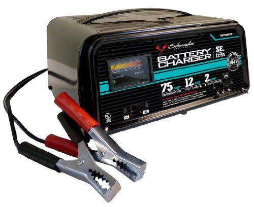 Schumacher SE-1275A 2/12/75 Amp Automatic Onboard Battery Charger 12 Amp Automatic Battery Charger