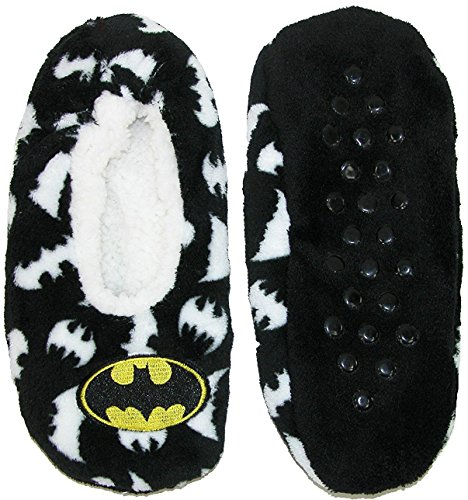 Slipper Large Large X Womens Cozy Socks Batman p6qCf8wp