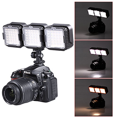 Neewer® CN-LUX360 5400K Dimmable LED Video Light Lamp for C