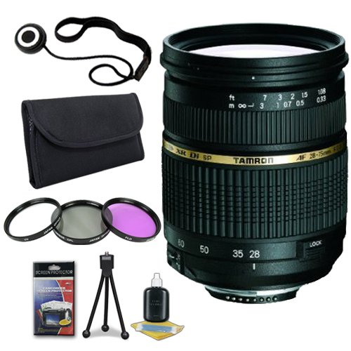 DavisMAX 58mm Wide Angle Lens for Canon EOS Rebel T2i with Canon 18-55mm Lens Fibercloth Lens Bundle