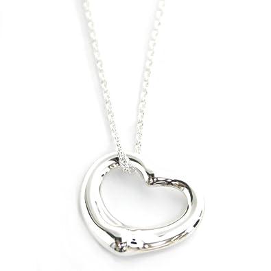 ネックレス スターリングシルバー ダイヤモンド ハート ペンダント ネックレスママ、18 並行輸入品