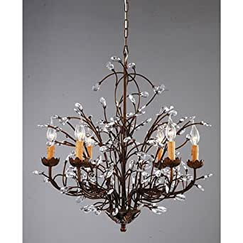 chandelier and uk lighting antique with bronze crystals premier century glass the gilt french crystal cut art chandeliers portal s antiques