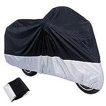 XXXL Indoor Outdoor Motorcycle Cover + Storage Bag For Harley Davidson Honda Kawasaki Suzuki Yamaha
