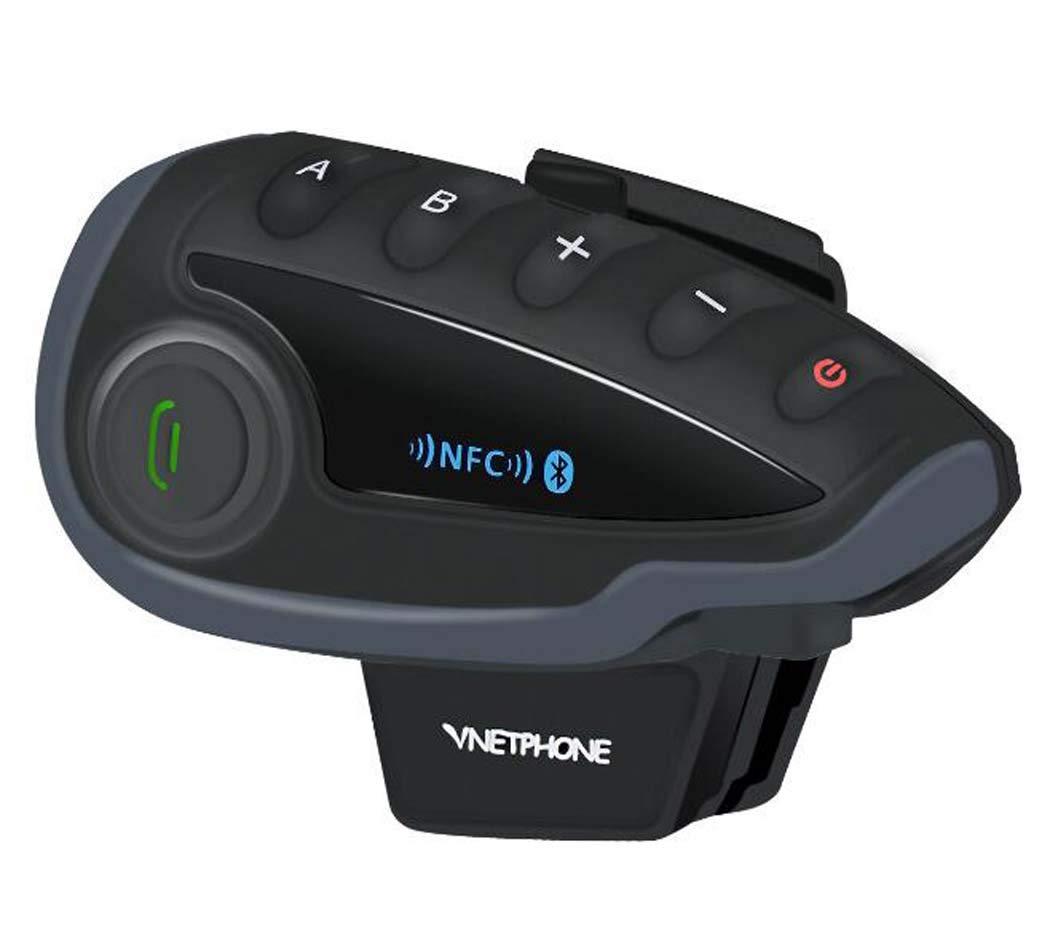 CY&Y V8 1200M Motorcycle Helmet Bluetooth Walkie Talkie Headset