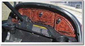 Performance Plus Carts Club Car Precedent Wood Grain Dash Kit