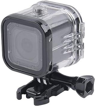 Dgaddcd Encauchar Caja Kits - 45m Profundidad Anti Agua Cáscara Buceo Cuadro con Soporte Tornillo para GoPro Hero 5 Session/Hero 4 Session Camera: Amazon.es: Deportes y aire libre