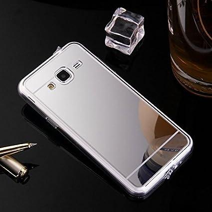 Funda Case Samsung Galaxy A5 2015 silicona,Ukayfe Carcasa Espejo Samsung Galaxy A5 2015 Mirror Case,Ultra fina de Tpu funda de silicona espejo ...