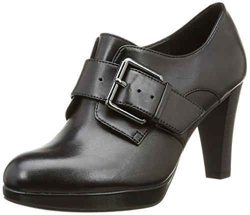 Clarks Kendra Art - Tacones Mujer Negro (Black Leather)