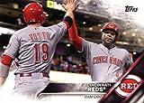Cincinnati Reds 2016 Topps MLB Baseball Regular Issue Complete Mint 24 Card Team Set with Joey Votto, Jay Bruce Plus