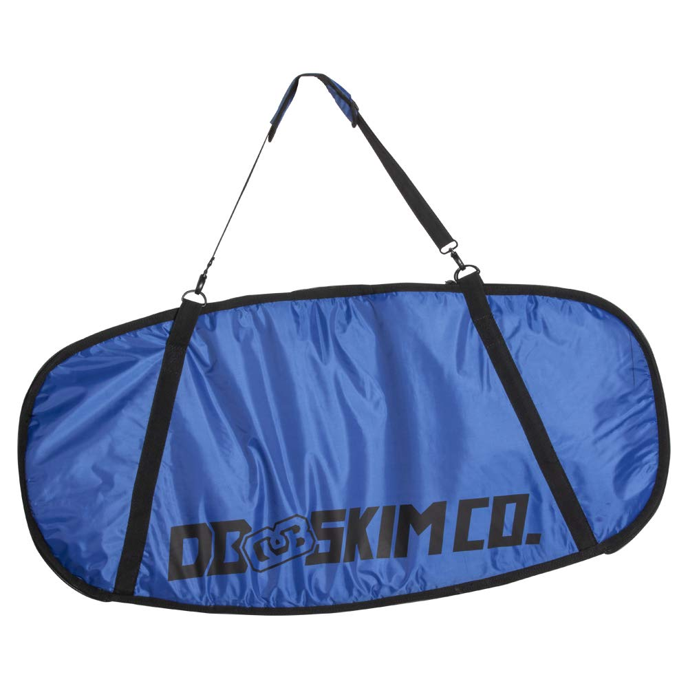 DB Skimboards Day Trip Skimboard Bag - Blue, 46''x23'', Skimboard Carrying Bag with Comfortable Shoulder Strap Durable Carrying Handle Internal Tie-Down Straps & Industrial Strength Zipper