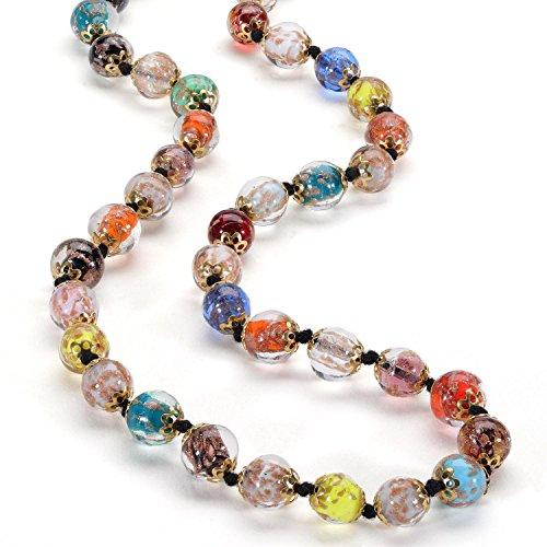 - Stauer Women's Cornaro Murano Glass Italian Necklace (25 Inches)