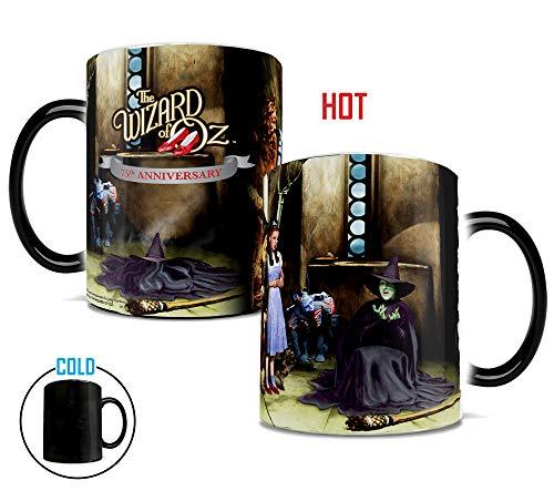 Morphing Mugs Wizard of Oz 75th Anniversary (Melting Witch) Ceramic Mug, Black]()