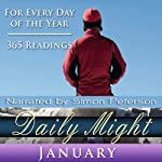Daily Might: January: A Reading for each day in January | Simon Peterson
