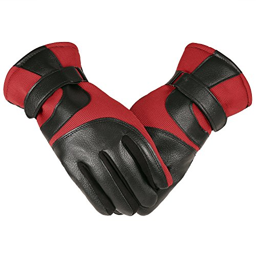 Cheap Mens Leather Gloves - 7