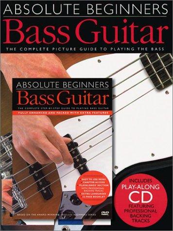 Absolute Beginners Bass Guitar Value Pack