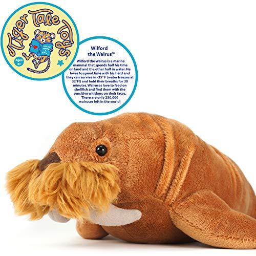 VIAHART Wilford The Walrus | 14 Inch Stuffed Animal Plush | by Tiger Tale Toys (Walrus Plush Stuffed Animal)