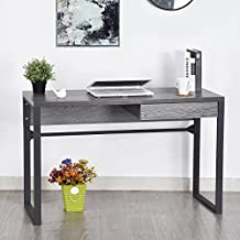 HomyCasa Writing Table with Drawer, Vanity Table, Computer Desk Table, Table for writing