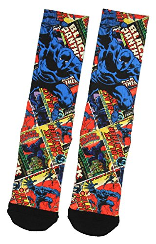 Black Panther AOP Sublimated Crew Sock