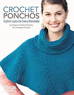 Crochet Ponchos Kindle Edition By Shannon Mullett Bowlsby Crafts