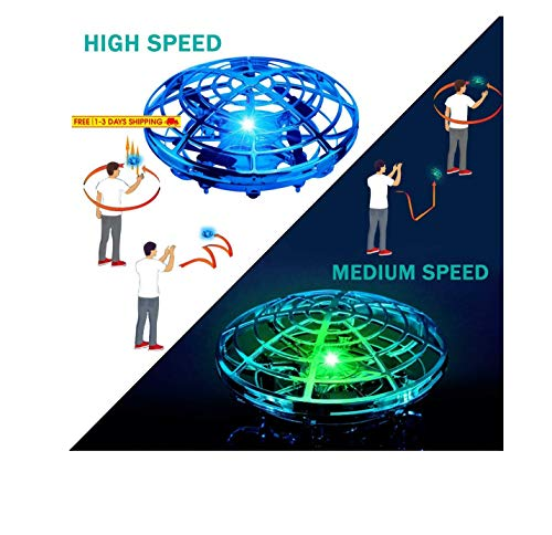 Hover Star Motion Controlled UFO, Blue