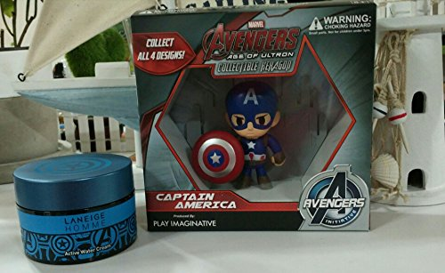 Laneige Homme Active Water Cream Set with Captain America Figure(50ml)