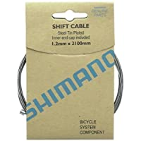 Caja de cable de cambio de zinc SHIMANO de 10 (1.2x2100mm)