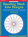 Dazzling Math Line Designs, Cindi Mitchell, 0590000888
