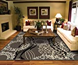 AS Quality Rugs Area Rugs Large Living Room 8×10 Contemporary Light Brown Clearance 100 Prime